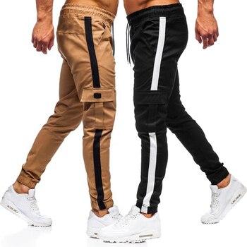 multicolor men jogging pants sweatpants