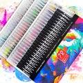 12-72 Цвета акварель кисти ручка художественный маркер Войлок художник каллиграфия школьные товары для рукоделия надписи окраски набор руче...