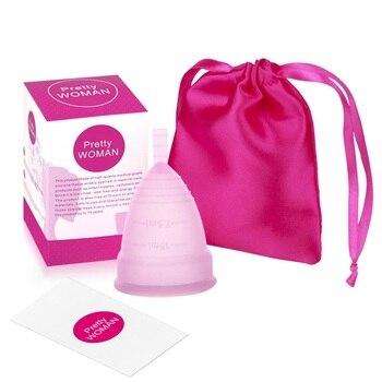 Copa Menstrual De Silicona para mujer, higiene femenina, Copa Menstrual, Copa Menstrual...