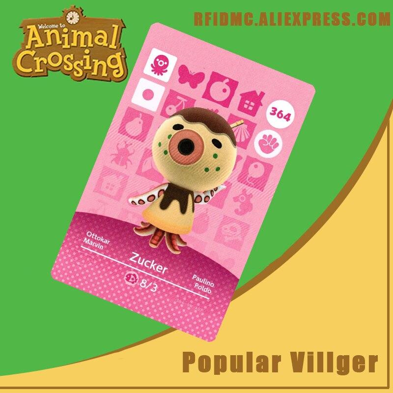 364 Zucker Animal Crossing Card Amiibo For New Horizons