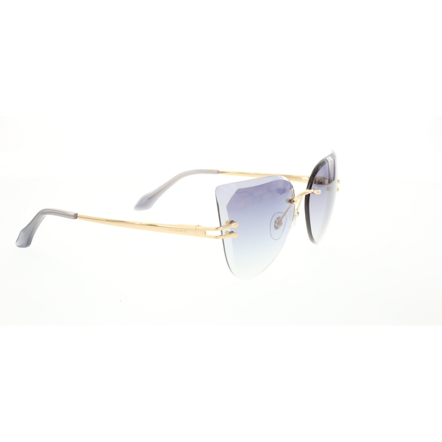 Women's sunglasses os 2719 02 facet gold polycarbonate butterfly cat eye 61-17-140 osse