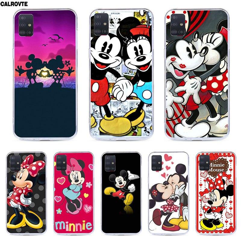 Phone Case For Samsung Galaxy A51 Back Minne Mickey Cover For Samsung Galaxy A51 A41 A71 A50 A40 A70 Marble Coque
