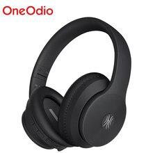 Oneodio a40 bluetooth v5.0 fones de ouvido com cancelamento ruído ativo fone de ouvido sem fio com microfone para o telefone música dobrável