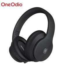 OneOdio A40 Bluetooth V5.0 אוזניות פעיל רעש מבטל אוזניות עם מיקרופון עבור טלפון מוסיקה מתקפל אוזניות