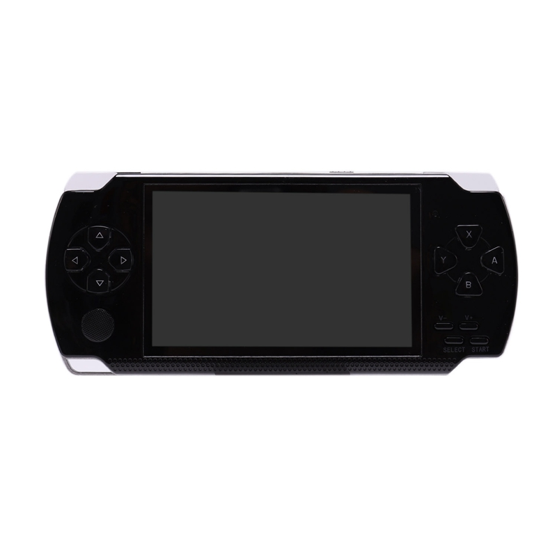 Built-In 5000 Games, 8GB 4.3 Inch PMP Handheld Game Player MP3 MP4 MP5 Player Video FM Camera Portable Game Console image