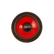 6.5 Polegada 165mm carro mid-range alto-falantes 150w 4 ohm vermelho injeção cone espuma borda à prova dgtágua alto-falante gtx 1660 novo i chave comprar
