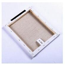 Прямоугольная рама для рисования деревянная льняная маслом (1