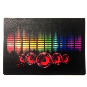 Świąteczna impreza muzyczna rozświetla panel elektryczny t-shirt muzyczny aktywowany migający panel elektryczny na t-shirt