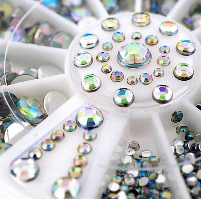 Купить 1 разноцветные стразы для дизайна ногтей украшение t34