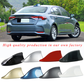 For Toyota PRIUS, EZ, YARiS, Auris, Verso, Avensis-Hatchback and COROLLA-Fielder Shark Fin Antenna, Car Radio Aerials image