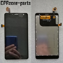 "5.0"" Black For Lenovo K860 K860i LCD display with touch screen digitizer sensor panel assembly free shipping(China)"