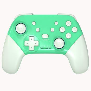 Konsoli nintendo Switch Pro bezprzewodowy kontroler gier Bluetooth z 6-uchwyt osi gra Joystick kontroler dla przełącznik konsoli tanie i dobre opinie Jeebel Gamepady 2020