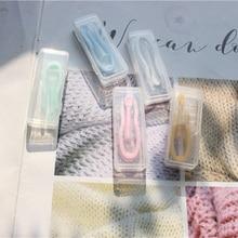 Glasses Case Container Boxes Lenses-Box Pocket-Contact-Lens Travel-Kit Plastic Mini Portable