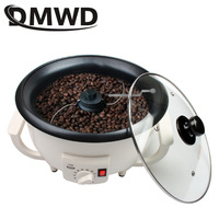 DMWD 110V/220V Electric Coffee Roaster Dried Fruit Peanut Bean Baking Stove Dryer Grain drying Coffee Beans Roasting Machine EU