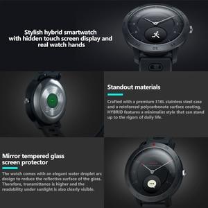 Image 3 - Zeblaze היברידי קצב לב צג לחץ דם Smartwatch נסתרת מגע מסך ספורט מעקב חכם שעון עם הודעות