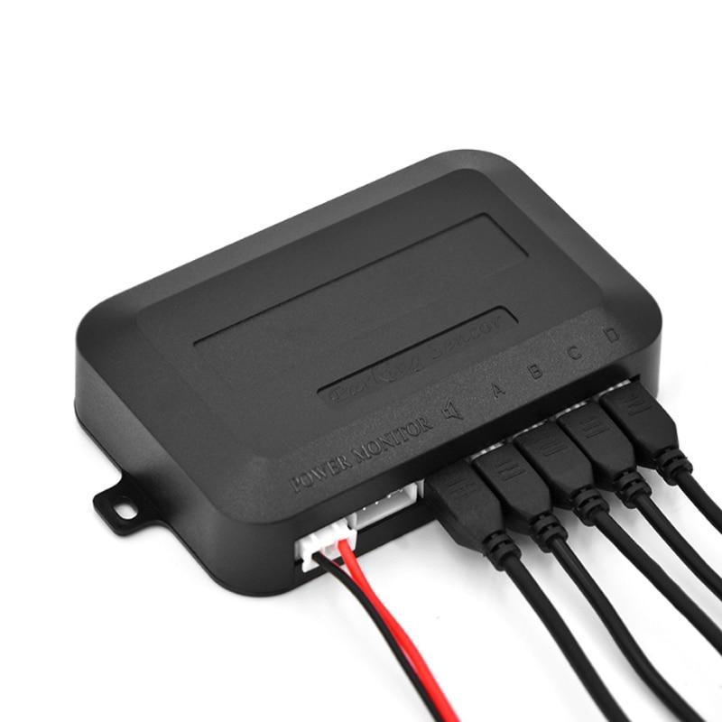 cheapest Car Auto Parking Sensor Auto Parktronic Kit LED Display Parking Radar with 4 Sensors Reverse Backup Monitor Detector System