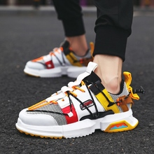 Men Casual  Sneakers Male Sneaker Tennis Trainers Breathable Lace-up Men Shoes Mixed Color Size 39-44 PG088 цена в Москве и Питере