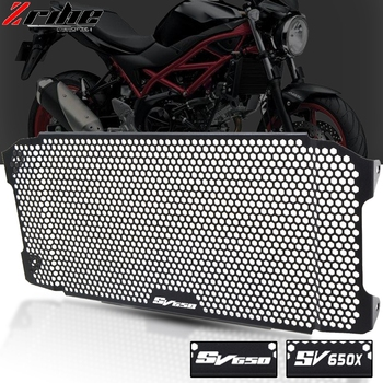 2019NEW Motorcycle Accessories Radiator Guard Protector Grille Grill Cover For Suzuki SV650X 2018 2019 SV650 2016 2017 2018 2019 new stainless steel motorcycle accessories radiator guard cover grille grill fuel tank protector for r3 2015 2016 free shipping