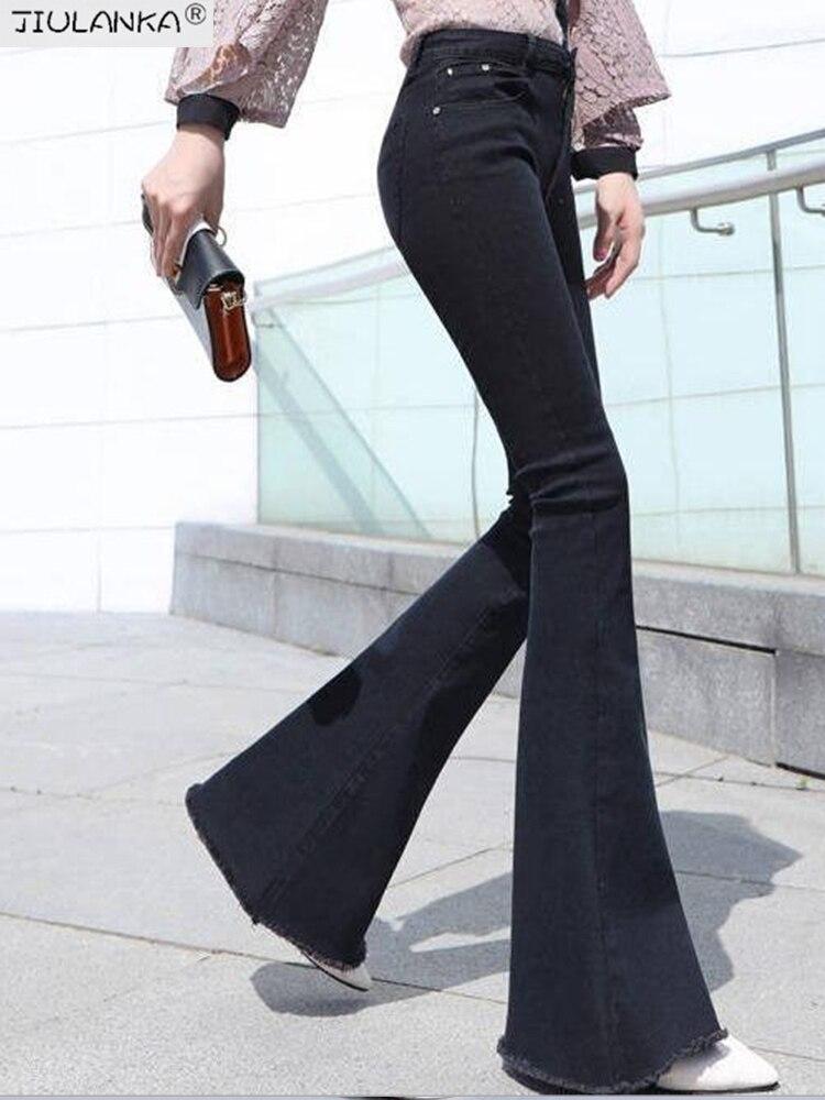 Frauen jeans frau hohe taille Ausgestelltes Jeans Hosen frauen hosen für frauen Jean frauen kleidung undefined undefined Frau hosen kleidung