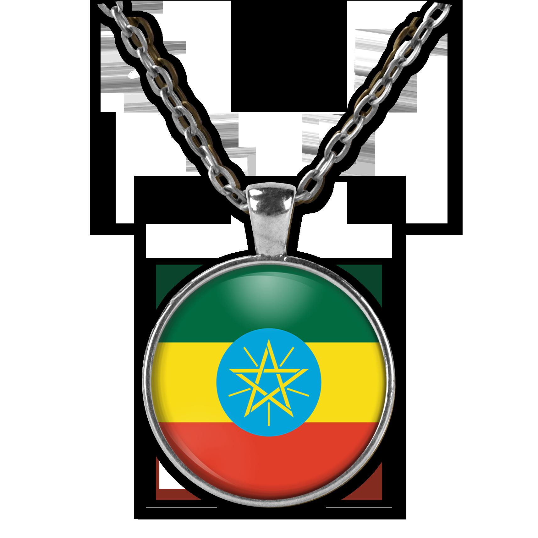 เอธิโอเปียส่วนบุคคลภาพสร้อยคอผู้หญิงภาพเครื่องประดับสร้อยคอจี้สร้อยคอผู้ชาย Memorial Photo ของขวัญ