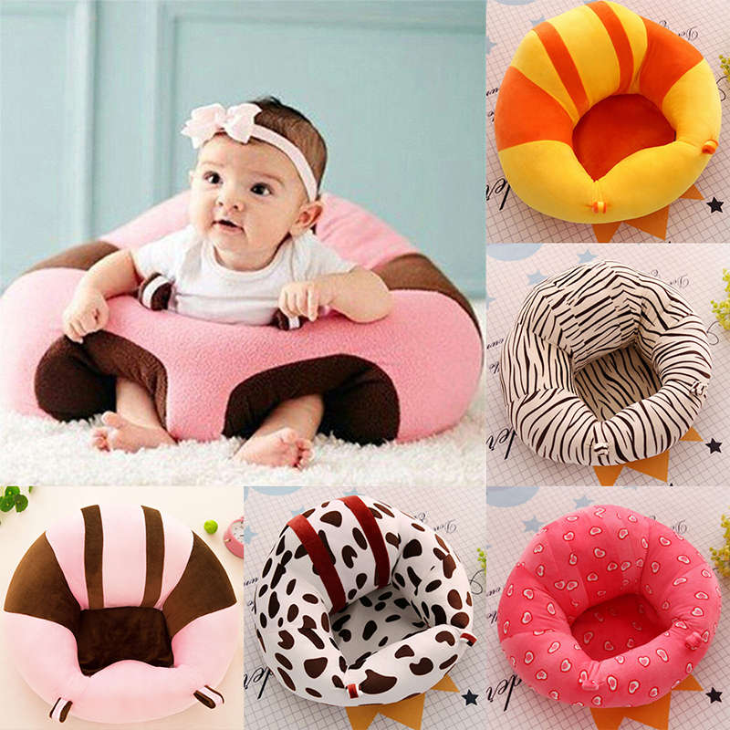 Cartoon Kids Baby Support Seat Sit Infantil Sofa Baby Seat Cotton Feeding Chair For Baby Children Toy Bean Bag Drop Shipping