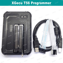 Novo programador xgecu t56 suporte poderoso programador nem flash/nand flash/emmc