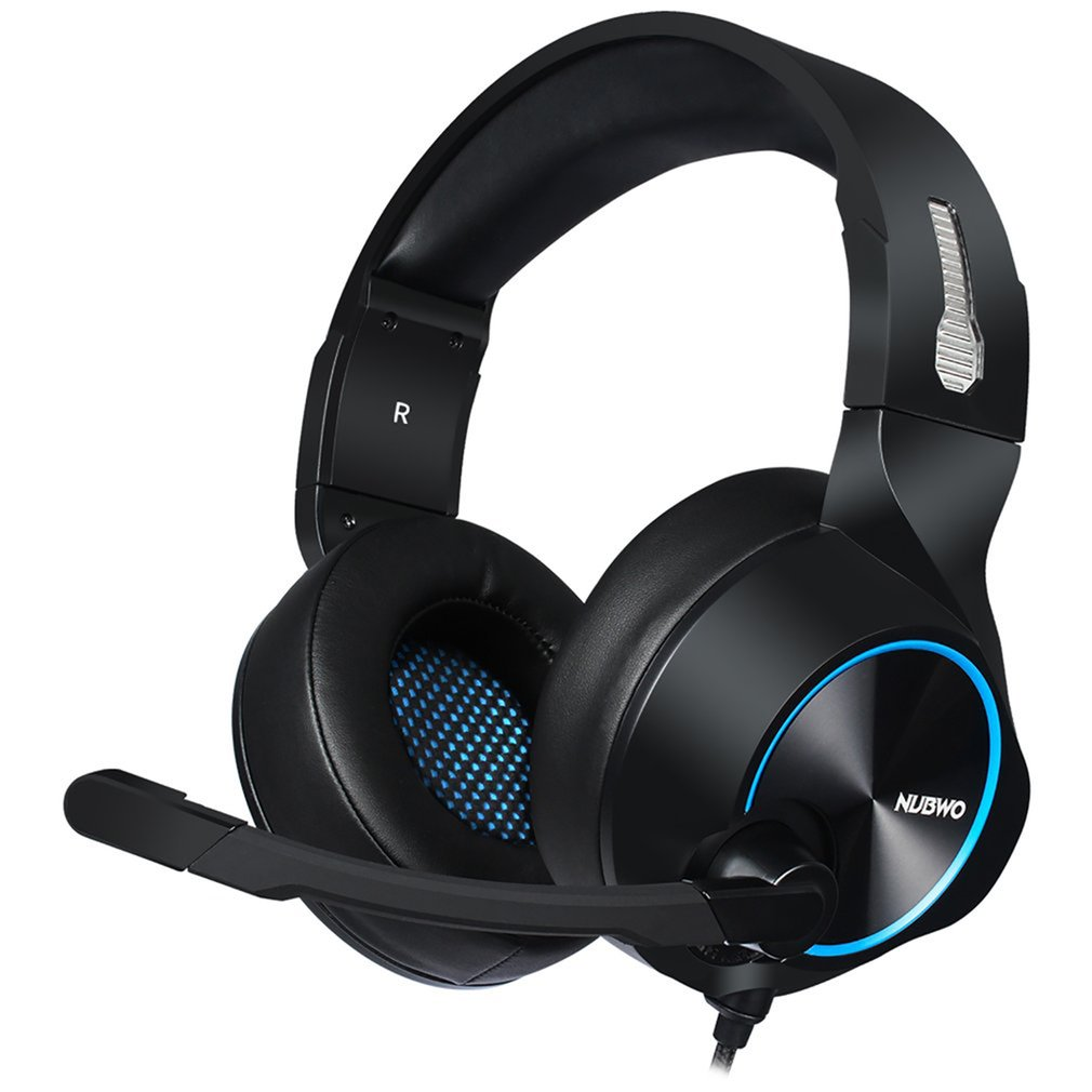 N11D <font><b>USB</b></font> Leucht/3,5 Nicht Luminous Gaming Headset Casque Verdrahtete PS4/Xbox One Headphoes Mit Mikrofon Für Computer image