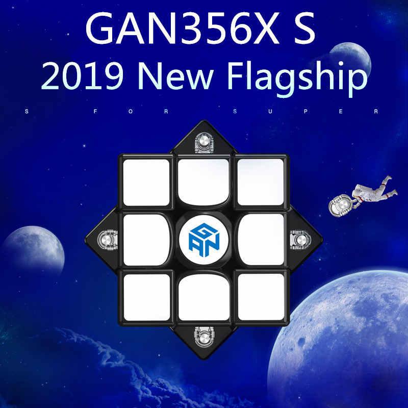 ใหม่ GAN356X S แม่เหล็ก 3x3x3 เมจิกความเร็ว Cube Stickerless Professional GAN356 X S แม่เหล็กปริศนาก้อนสำหรับการแข่งขัน GAN356 XS