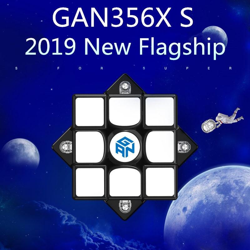 Nouveau GAN356X S magnétique 3x3x3 magique Speed Cube sans colle professionnel GAN356 X S aimants Puzzle Cubes pour compétition GAN356 XS - 2