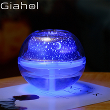 500ml Led Night Light Humidifiers USB Ultrasonic Aroma  Diffusers Lamp Mist Maker Mute Air Conditioner White Diffusor
