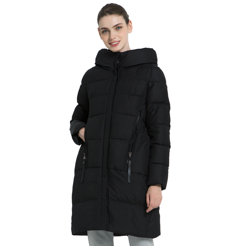 ICEbear 2019 New Winter Women's Jacket High Quality Women's Hooded Coat Female Brand Clothing Casual Woman Warm Parka GWD18209I icebear 2018 new autumn women cotton padded high quality thermal short paragraph slim women s jacket fall woman jacket gwc18126d