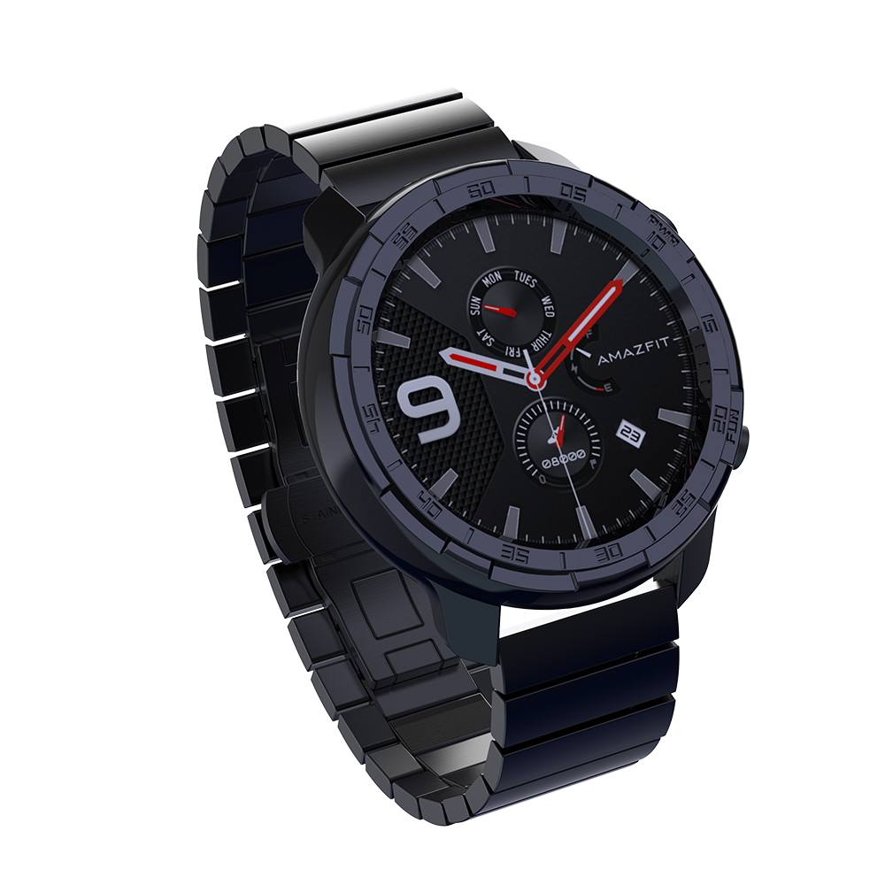 Case For Amazfit GTR 47mm 42mm Smart Watch Protector For Huami Smartwatch Cover Accessories MOSHOU