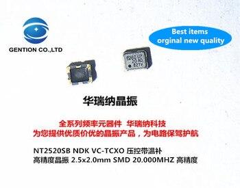 10pcs 100% orginal new TCXO temperature subsidy chip crystal 2520 2025 NDK 20M 20MHZ 20.000MHZ NT2520SB