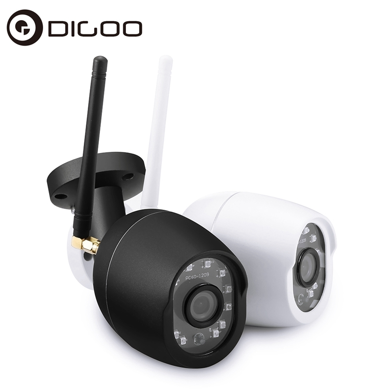 [Upgrade Version] DIGOO DG-W01F 1080P 14 LED Smart IP Camera IP66 APP Remote Control SD Card & Cloud Storage Security Monitor