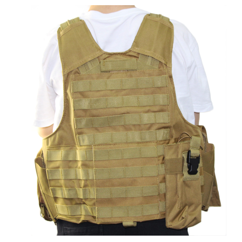 Image 4 - Tactical Vest Molle CIRAS Airsoft Combat Vest W/Magazine Pouch Releasable Armor Plate Carrier Strike Vests Hunting Clothes Gear-in Hunting Vests from Sports & Entertainment