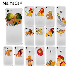 Yinuoda The Lion King Custom Photo Soft Phone Case for Apple iPhone 8 7 6 6S Plus X XS MAX 5 5S SE XR Cover(China)