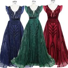 2020 Dubai design new arrive burgundy plus size dress long sleeve evening