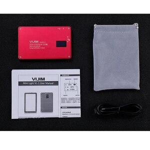 Image 5 - VIJIM VL 1 Mini Led Video işığı fotoğraf aydınlatma Vlog 96 boncuk 3500 k 5700 k akıllı telefon bir artı DSLR kamera Sony A6400