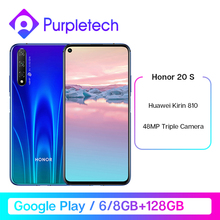 Original Honor 20S 20 S 48MP Rear 32MP Front Camera 6.26