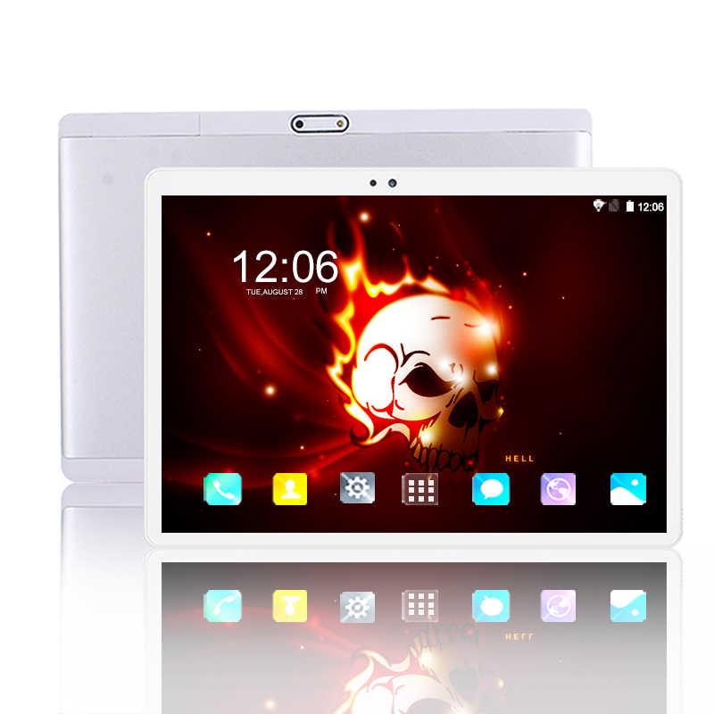 2.5D المقسى شاشة 10 بوصة اللوحي 1920*1200 IPS الروبوت 8.0 RAM 6GB ROM 64GB 4G مكالمة هاتفية WIFI أقراص 5G WIFI 8MP كاميرا