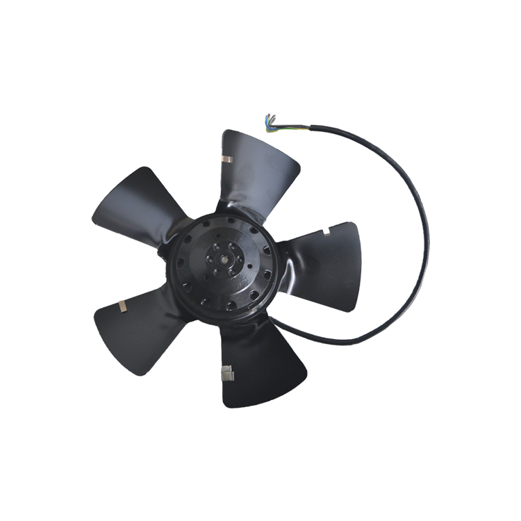 A2E250-AE65-02 Outer Rotor Axial Flow Fan 250*82mm Brand New Original