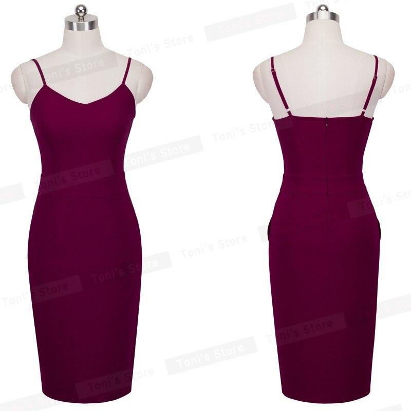 Хорошее-forever летнее повседневное сексуальное платье до середины икры с карманами облегающее платье-футляр женское платье-комбинация B304