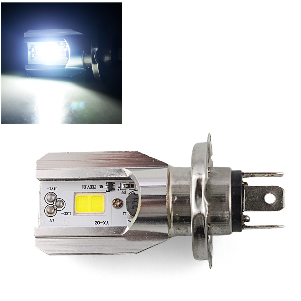 6000K 12V <font><b>Hs1</b></font> H4 <font><b>Led</b></font> Motorcycle Scooter Light Bulb Motorbike h4 <font><b>Led</b></font> <font><b>Headlight</b></font> Motorcycle <font><b>Hs1</b></font> Moped Light Bulbs Moto Accessories image
