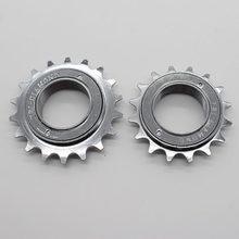 16t 18t 34mm roda livre da bicicleta de velocidade única roda livre bmx volante roda dentada acessórios da bicicleta