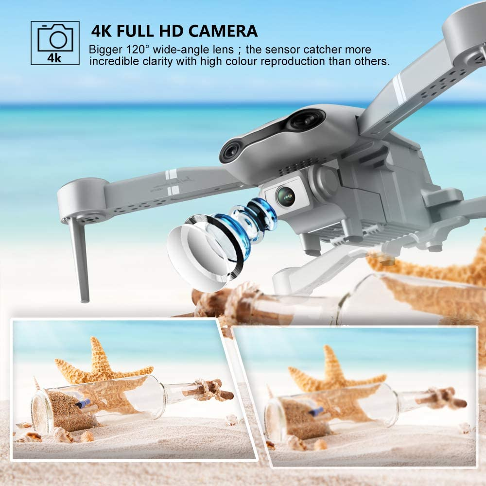 F3 drone GPS 4K 5G WiFi live video FPV quadrotor flight 25 minutes rc distance 500m drone Profesional HD wide-an dual camera-1