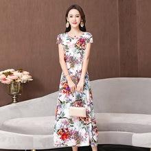 Женское длинное свободное платье трапеция 6xl элегантное вечернее