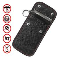 Funda bloqueadora de señal de llave de coche, funda protectora antirrobo para bloqueo de llaves de coche, con Wifi/GSM/RF