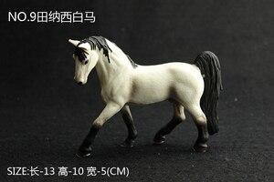 Image 4 - Kinder Simulation Zoo Modell Spielzeug Wilde Tiere Wild Horse Racing Pony Einrichtungs Fotografie Requisiten Handwerk Ornamente
