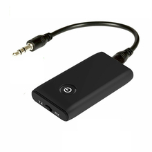 New 2 in 1 Bluetooth 5.0 Transmitter Receiver TV PC Car Speaker 3.5mm AUX Hifi Music Audio Adapter