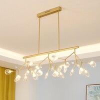 LED Tree branch chandelier Kitchen Dining room Bar heracleum lustre salon Lighting Art Decor luminaire hanging light fixtures